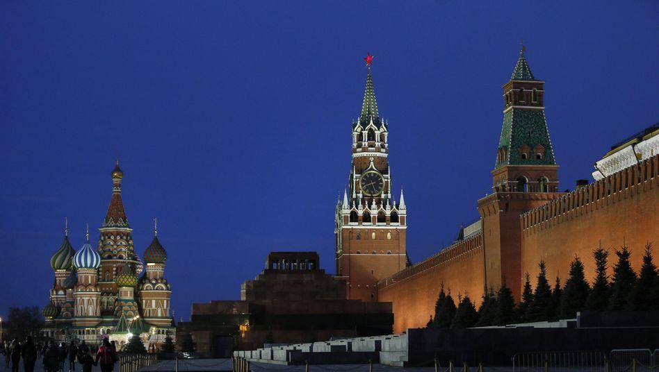 Kreml in Moskau (Archivbild): Alleinschuld für Eskalation bei Russland?