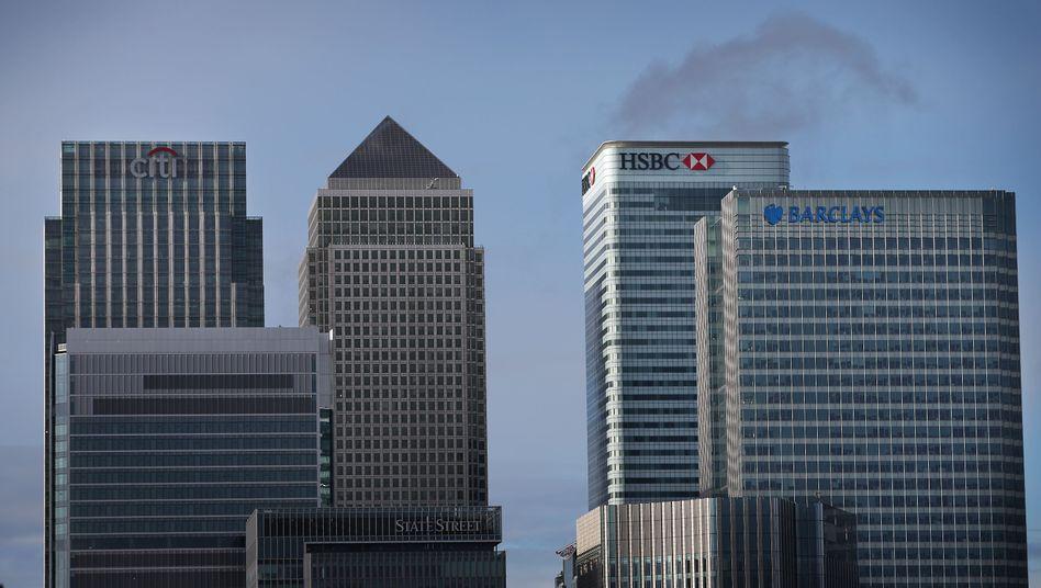 Bankenviertel in London: Zunehmend mehr Strafzahlungen