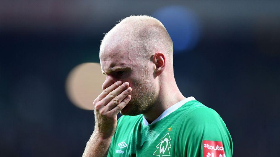 Davy Klaassen und Werder Bremen kassierten die achte Saisonniederlage in der Bundesliga
