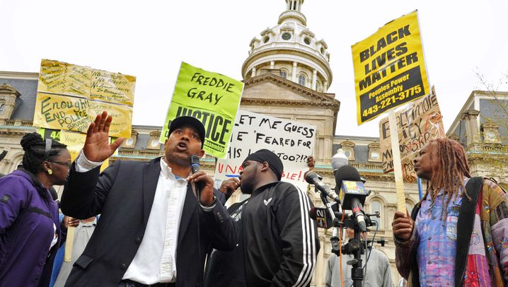 Tod von Freddie Gray: Proteste in Baltimore