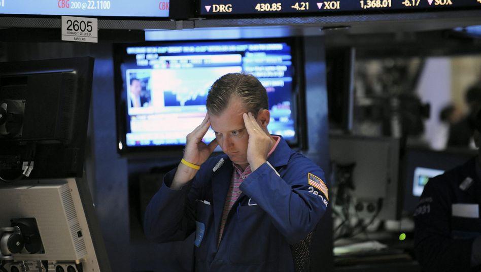 Börsianer in New York: Keine gute Zeit für taktische Manöver