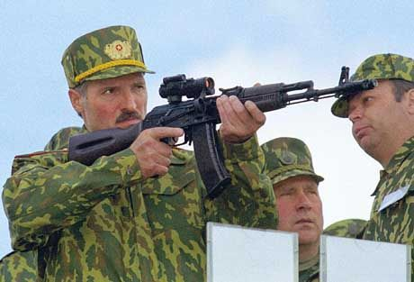 A third term for strongman Alexander Lukashenko?