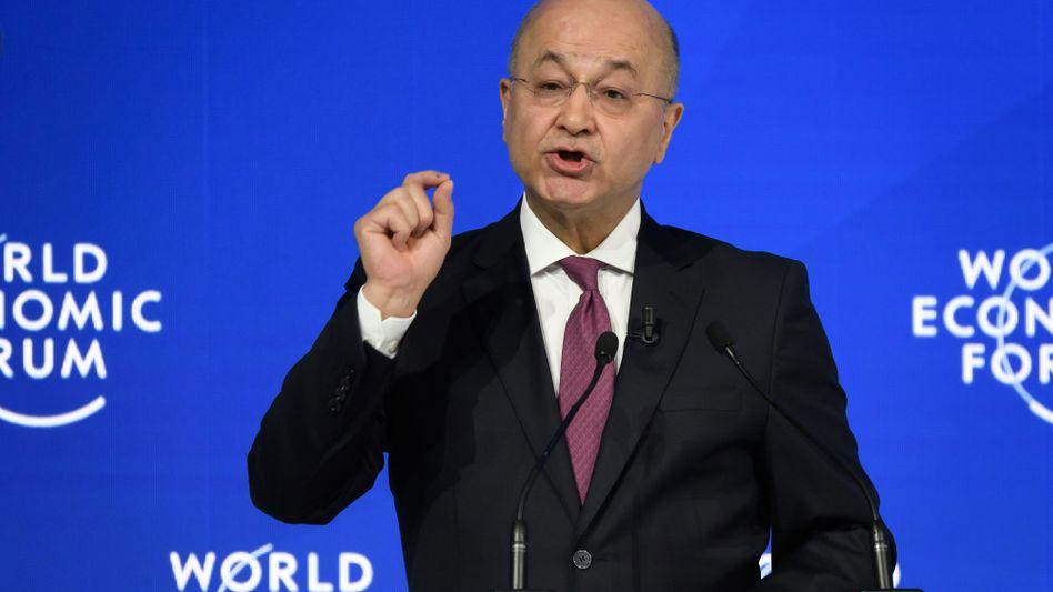 Iraks Staatschef Barham Saleh