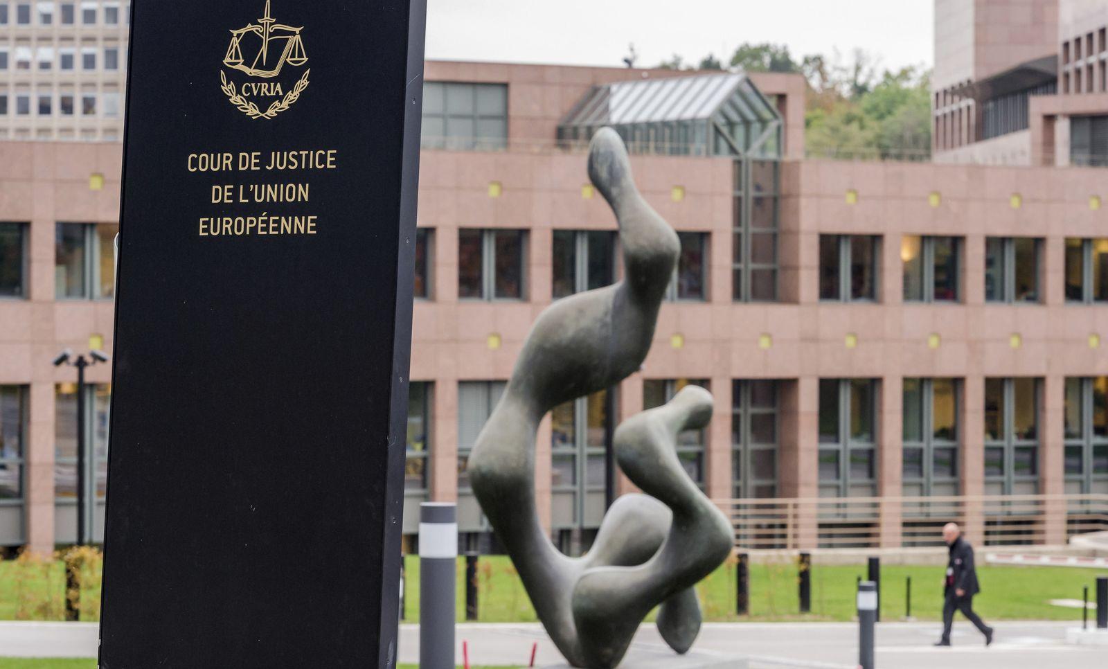 Europäischer Gerichtshof/ Arbeitszeit