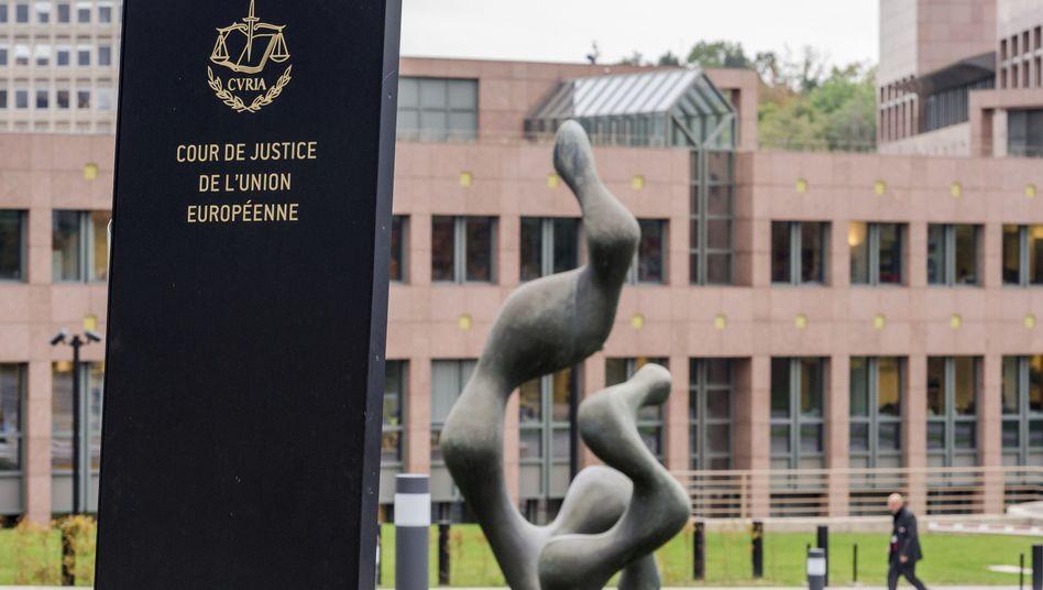 Europäischer Gerichtshof in Luxemburg (Archiv)