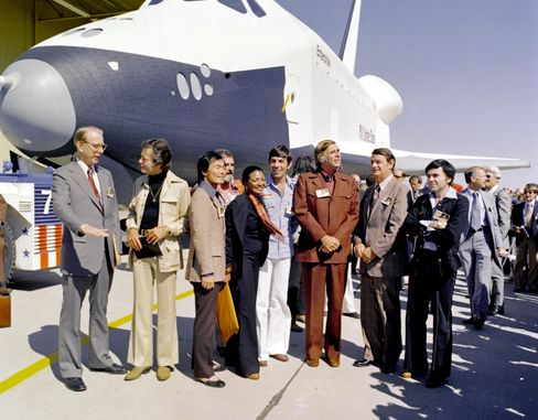 Die erste Enterprise, noch auf der Erde, 1976