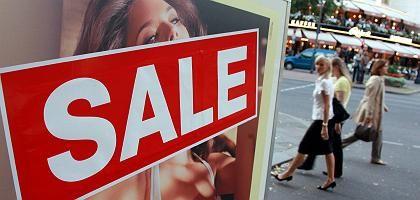 Schlussverkauf: Das Konjunkturprogramm bringt keinen Konsumimpuls