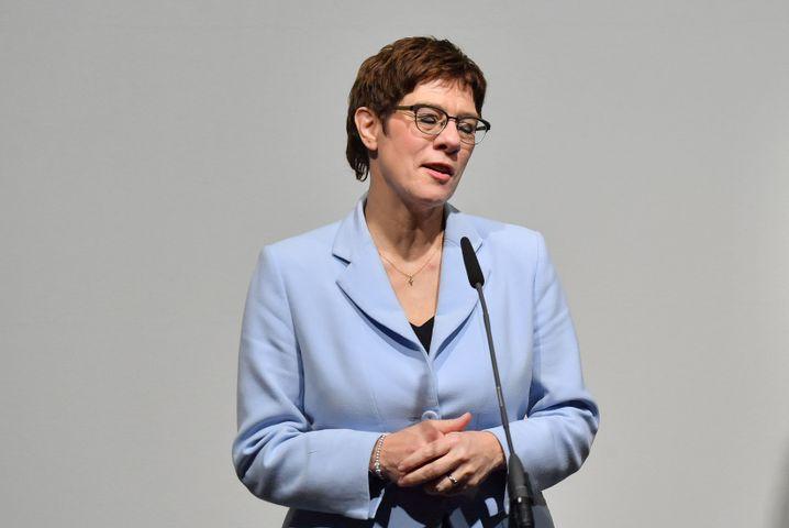 Annegret Kramp-Karrenbauer bei der CDU-Klausur