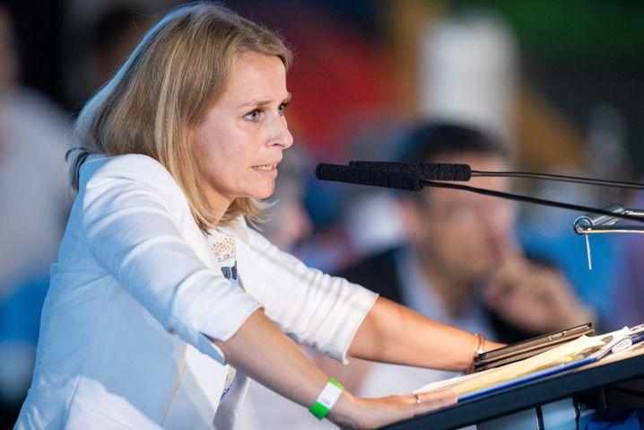 Corinna Miazga führt künftig die bayerische AfD: Die 36-Jährige bekam auf dem Parteitag 305 Stimmen