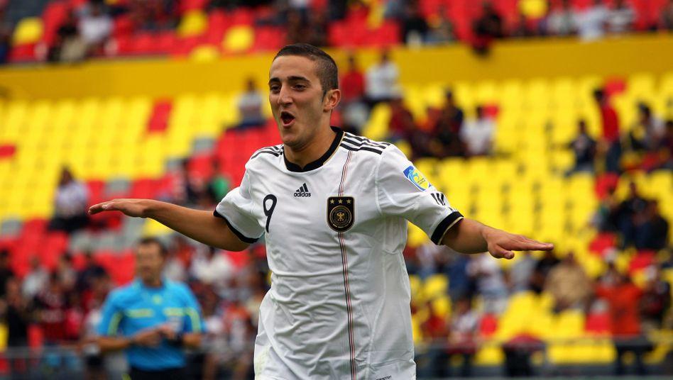 U17-Nationalspieler Yesil: Doppeltorschütze im Viertelfinale