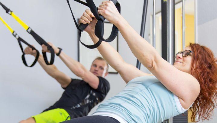 Trx Training: Bauch, Beine, Schlinge