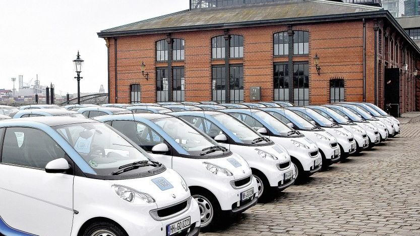 Car2Go-Flotte in Hamburg: »Taxis zum Selberfahren«