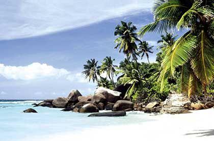 Paradiesische Strände: Alte Seefahrer hielten die Seychellen für den Garten Eden