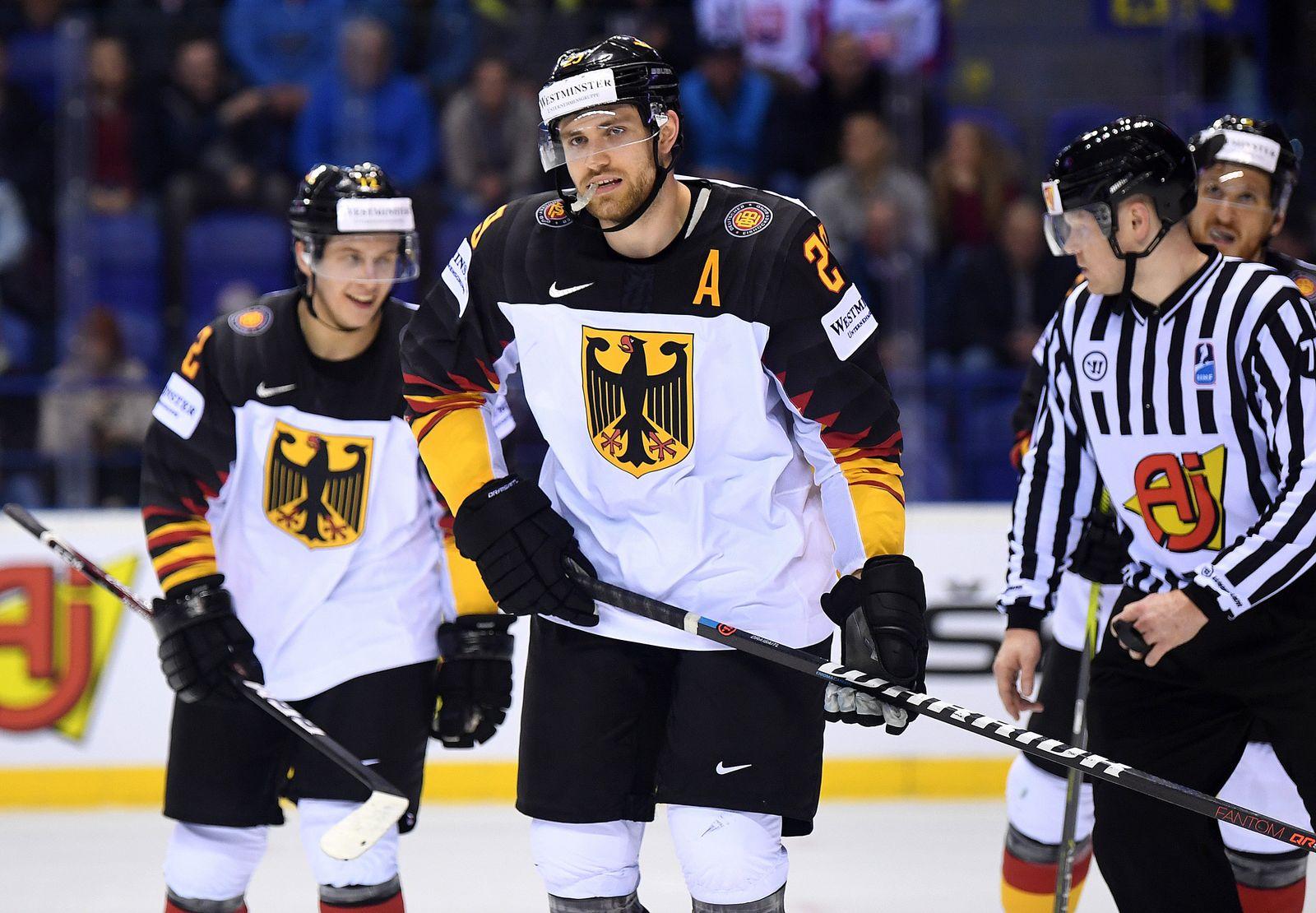 Eishockey WM: Deutschland - Frankreich