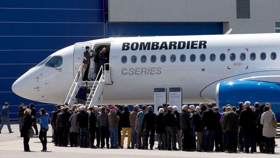Bombardier CS300 (in Kanada)