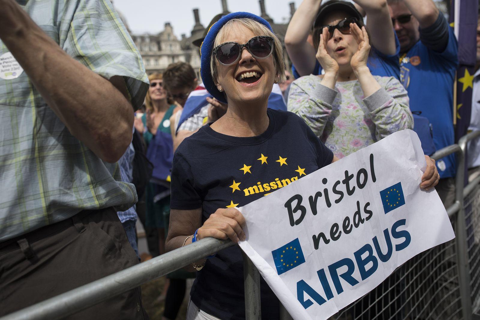 demo für Airbus in Bristol