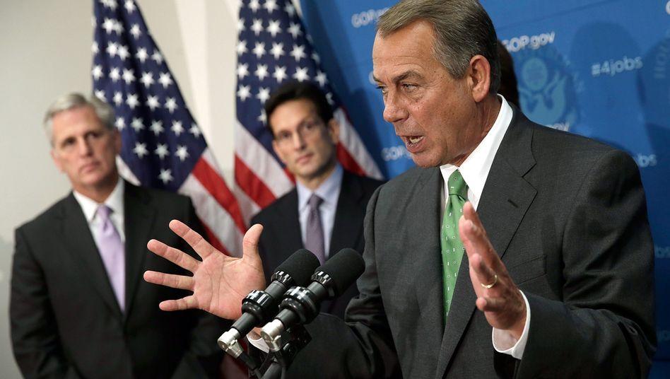 Republikaner John Boehner: Amerikas Krisenmacher