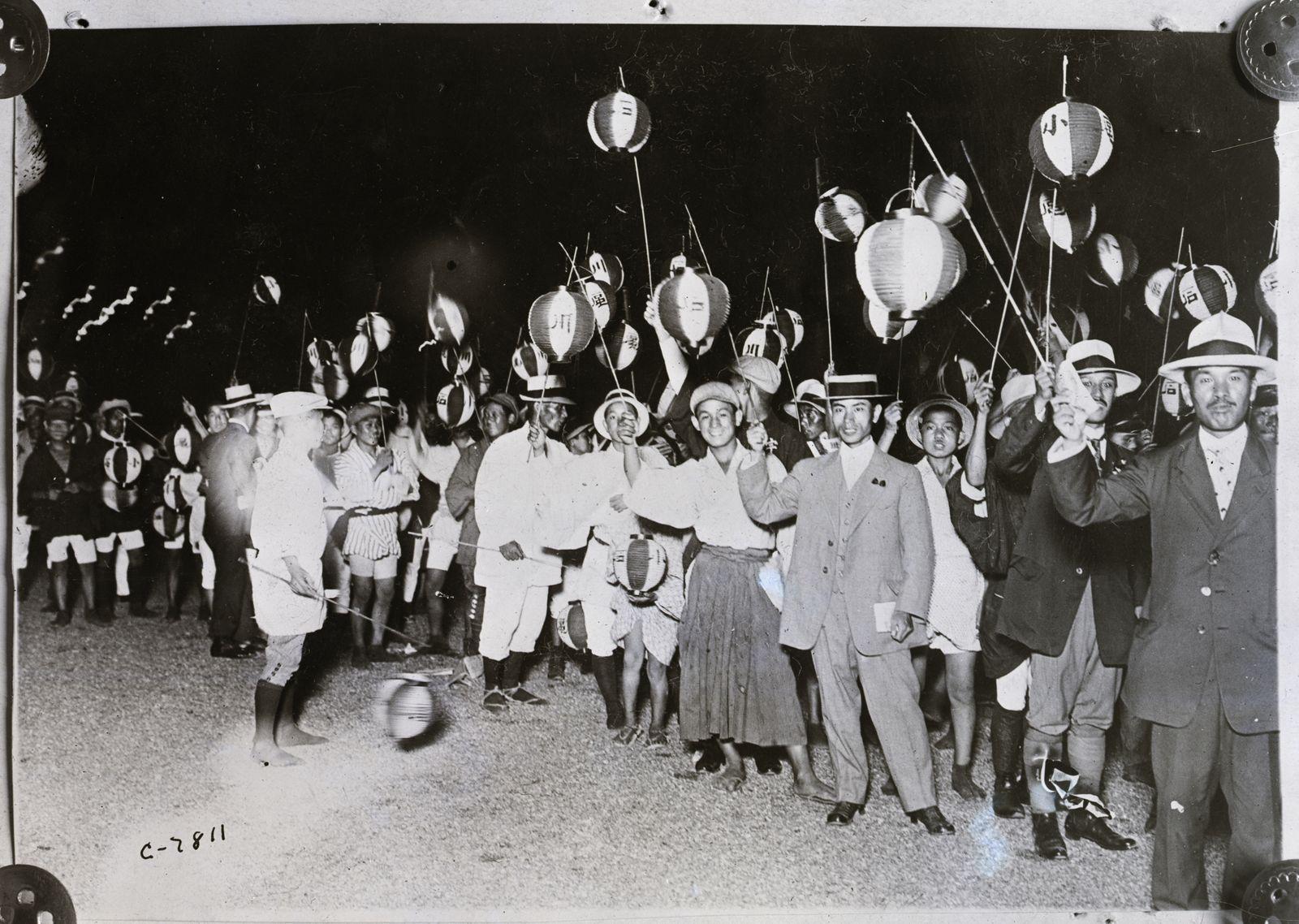 Lantern Procession, People Holding Lante