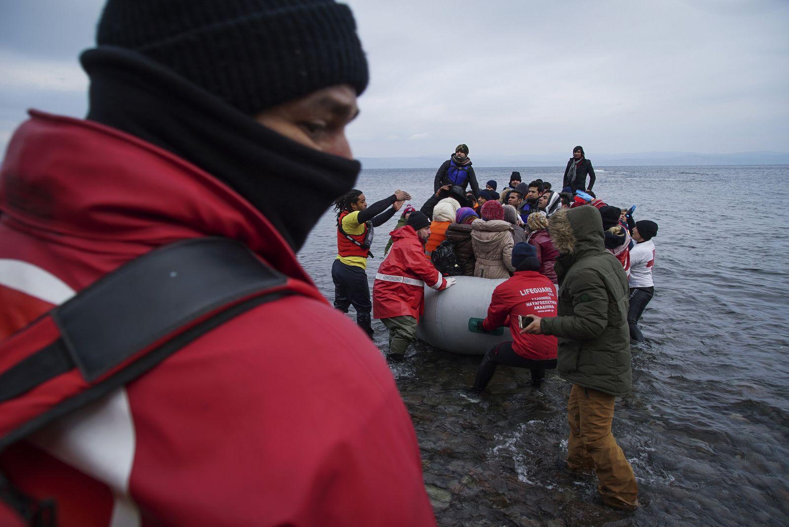 Flüchtlinge/ Griechenland/ zurück nach Türkei