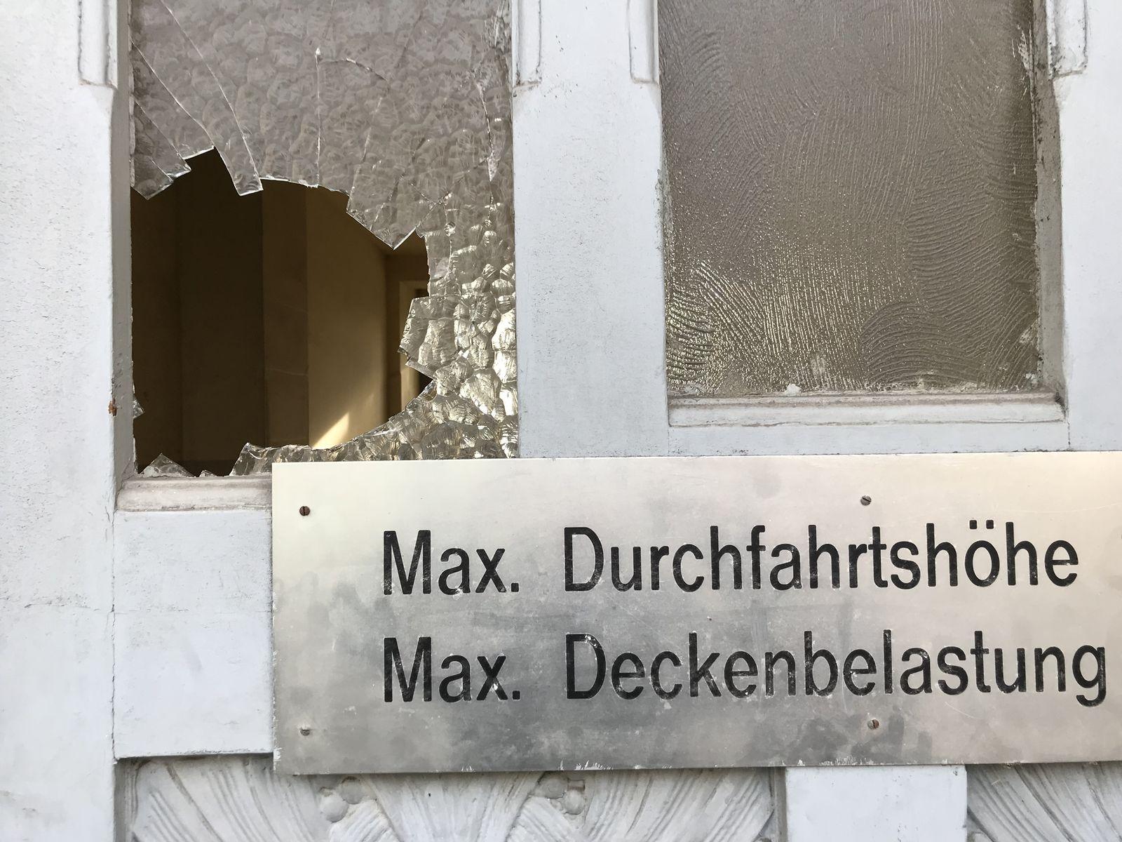 Wurzen Reportage Tatort Dresdener Straße