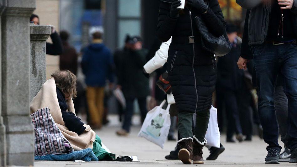 Obdachloser in Hamburg: Ein neurologisches Problem?