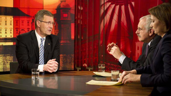 Präsident in Erklärungsnot: Wulffs TV-Auftritt
