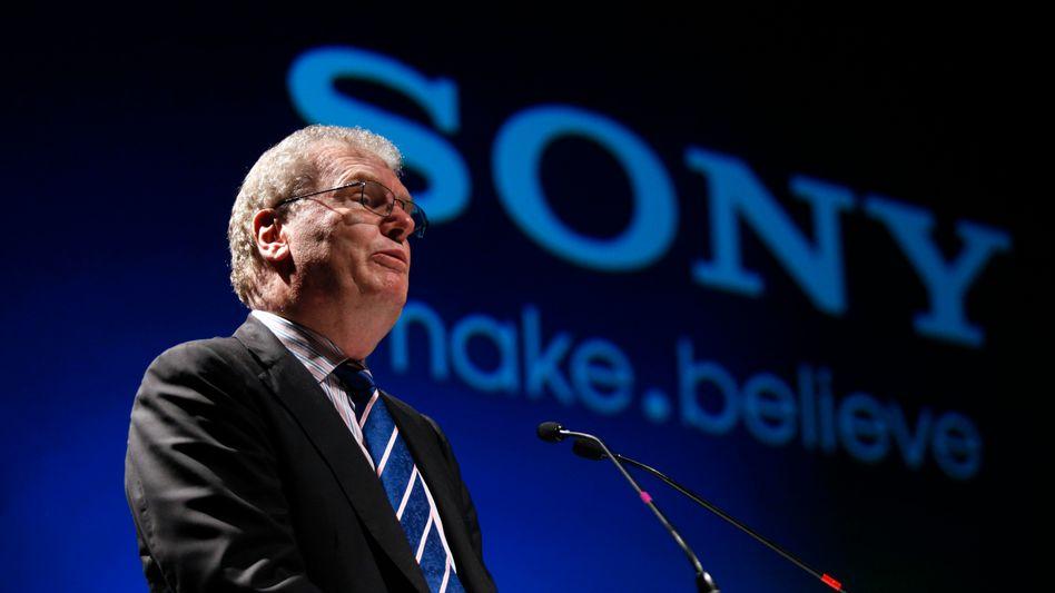 Sony-Chef Stringer: Entschuldigung bei Kunden