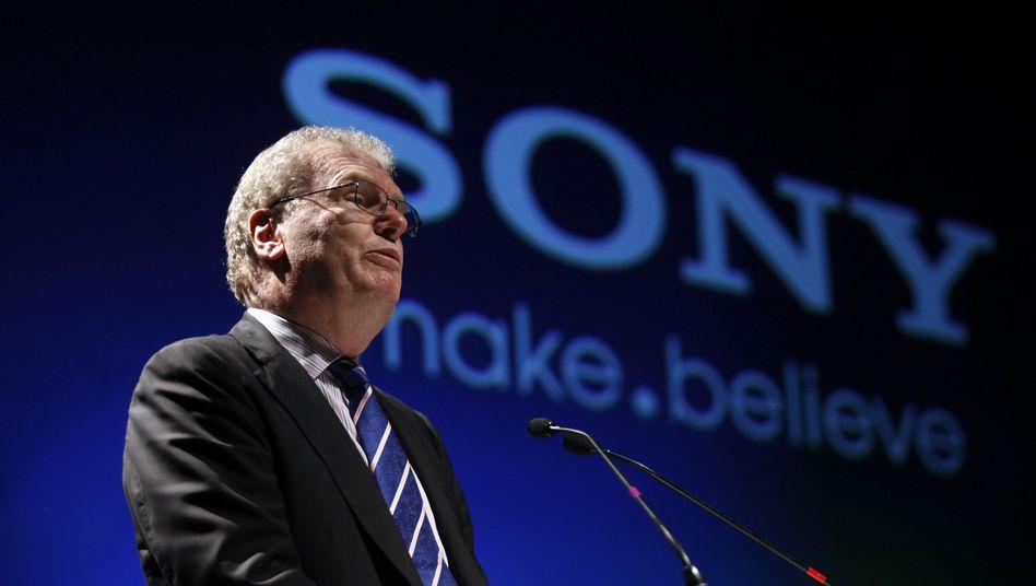 Sony-Chef Howard Stringer: Keine Sicherheits-Garantie für die Zukunft