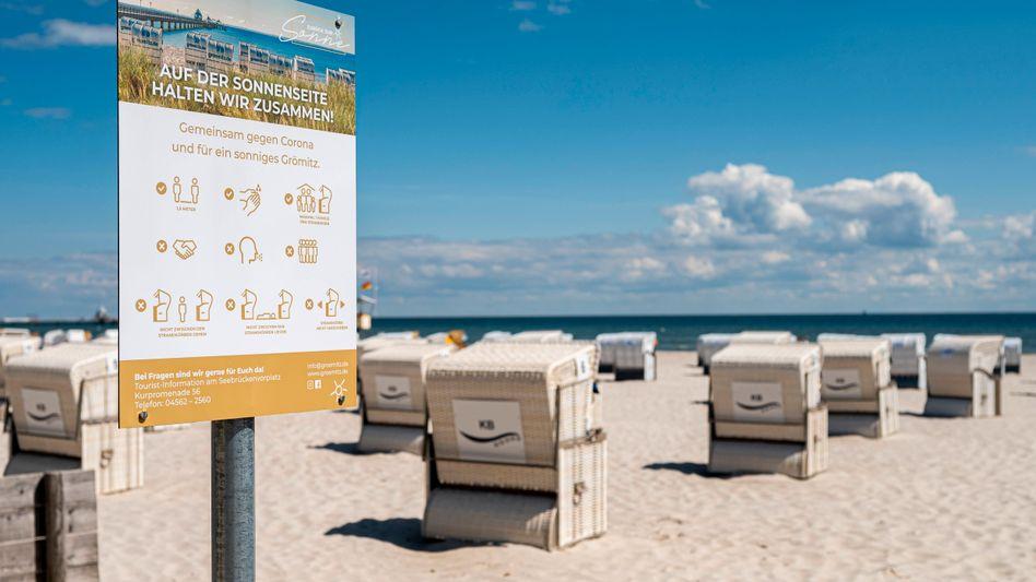 Abstandsregeln am Strand: Sind drei Meter am sichersten?