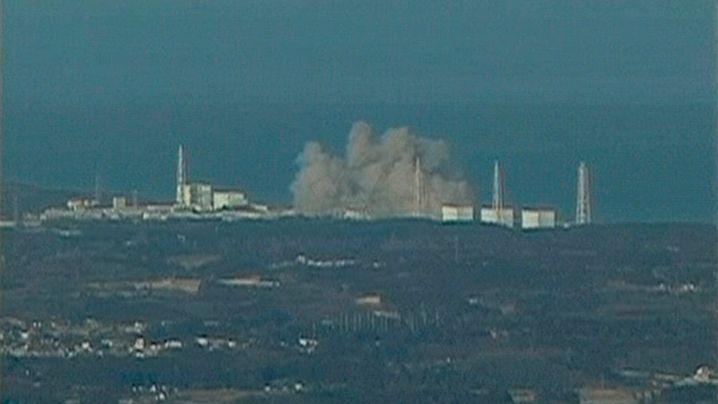 Tsunami-Folgen: Explosion in Kernkraftwerk
