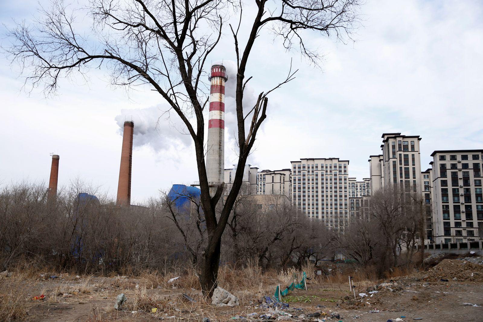 China/ Kohlekraftwerk
