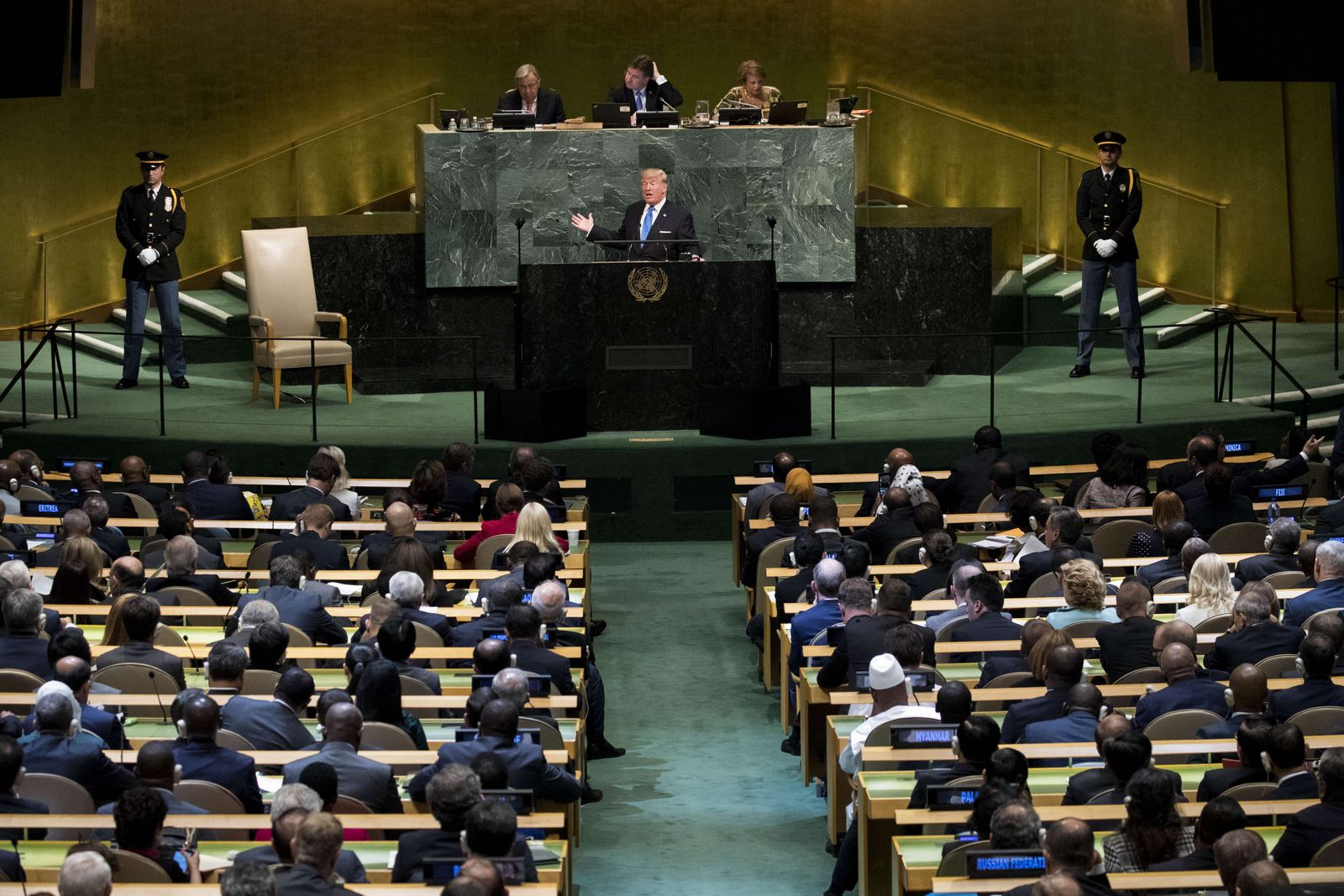 US-WORLD-LEADERS-ADDRESS-ANNUAL-UNITED-NATIONS-GENERAL-ASSEMBLY