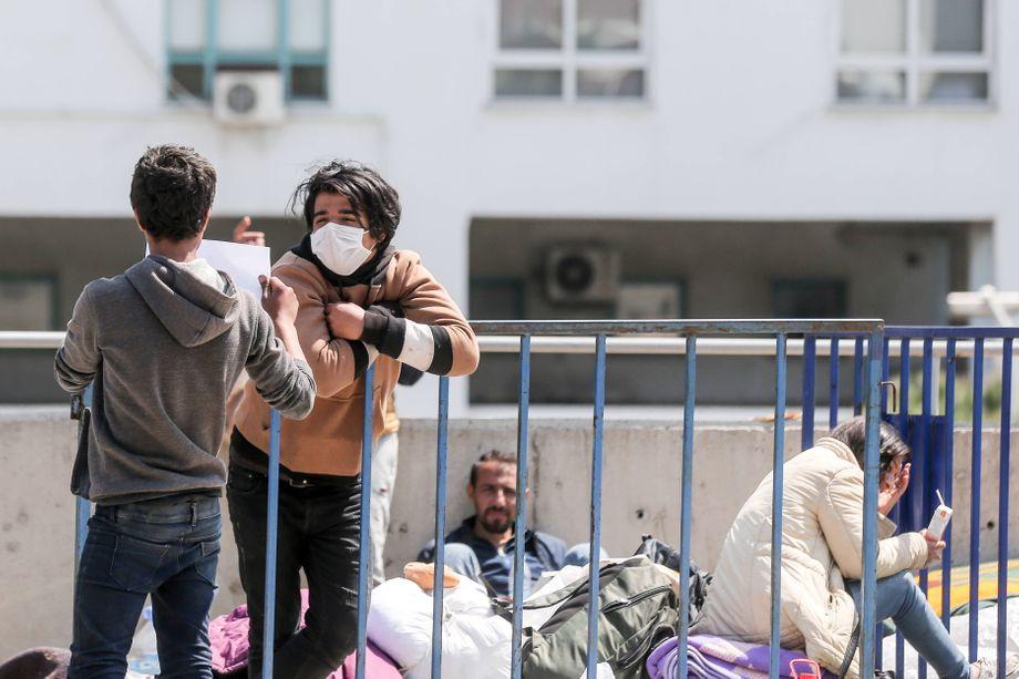 Gestrandet in Izmir: Syrische Flüchtlinge an der türkischen Westküste