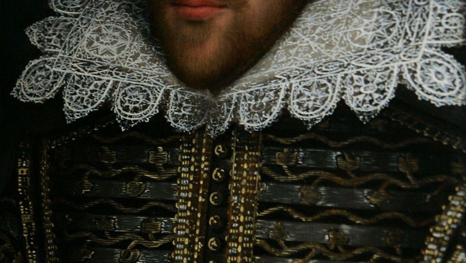 """William Shakespeare in einem kürzlich entdeckten Porträt: """"Autor? Autor?"""""""
