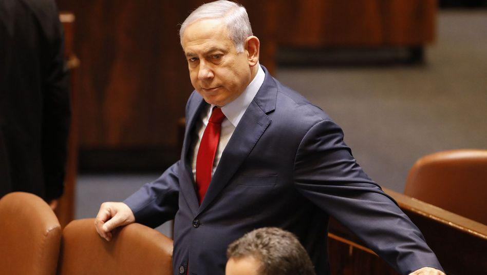 """Benjamin Netanyahu: """"Wir werden gewinnen, und die Öffentlichkeit wird gewinnen"""""""