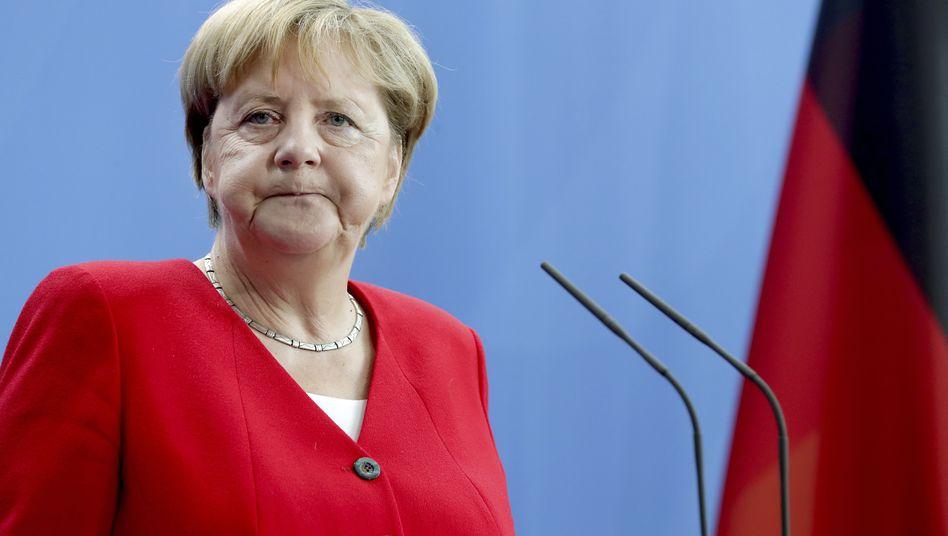 Angela Merkel hat mit Bedacht auf den Brief des Hongkonger Aktivisten Joshua Wong reagiert.