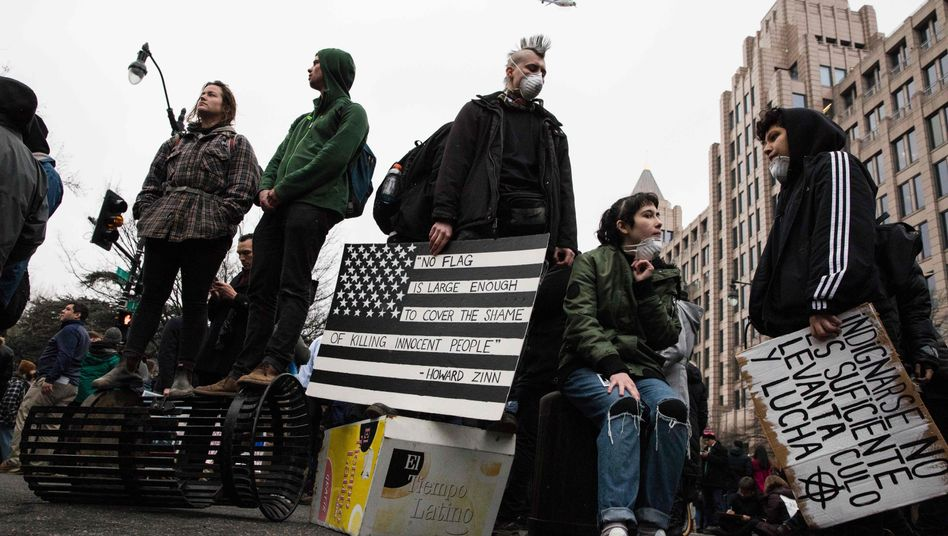 Anti-Trump-Proteste am 20. Januar