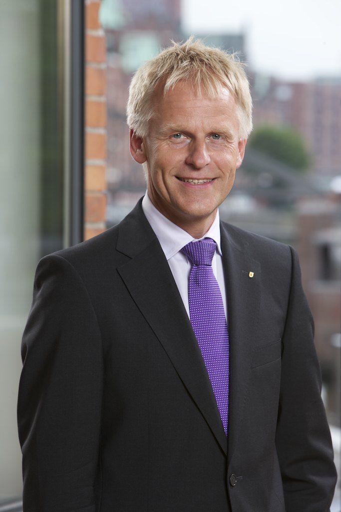 Jens Meier, Geschäftsführer der Hamburg Port Authority