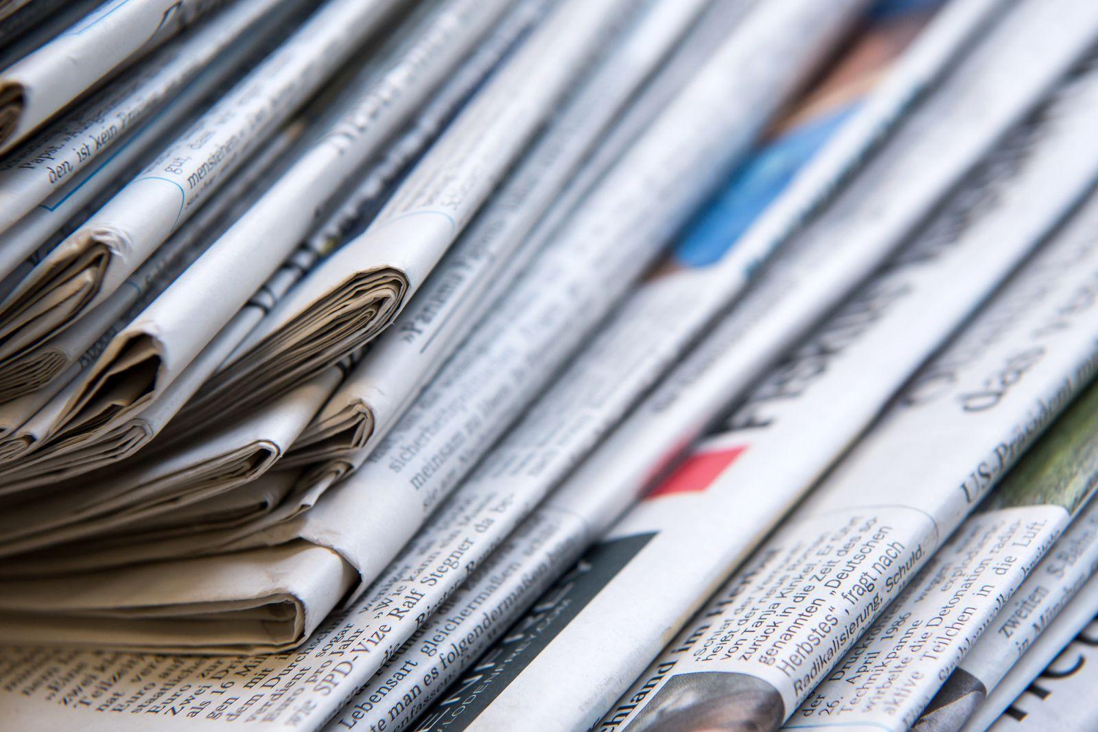 Internationale Zeitungen