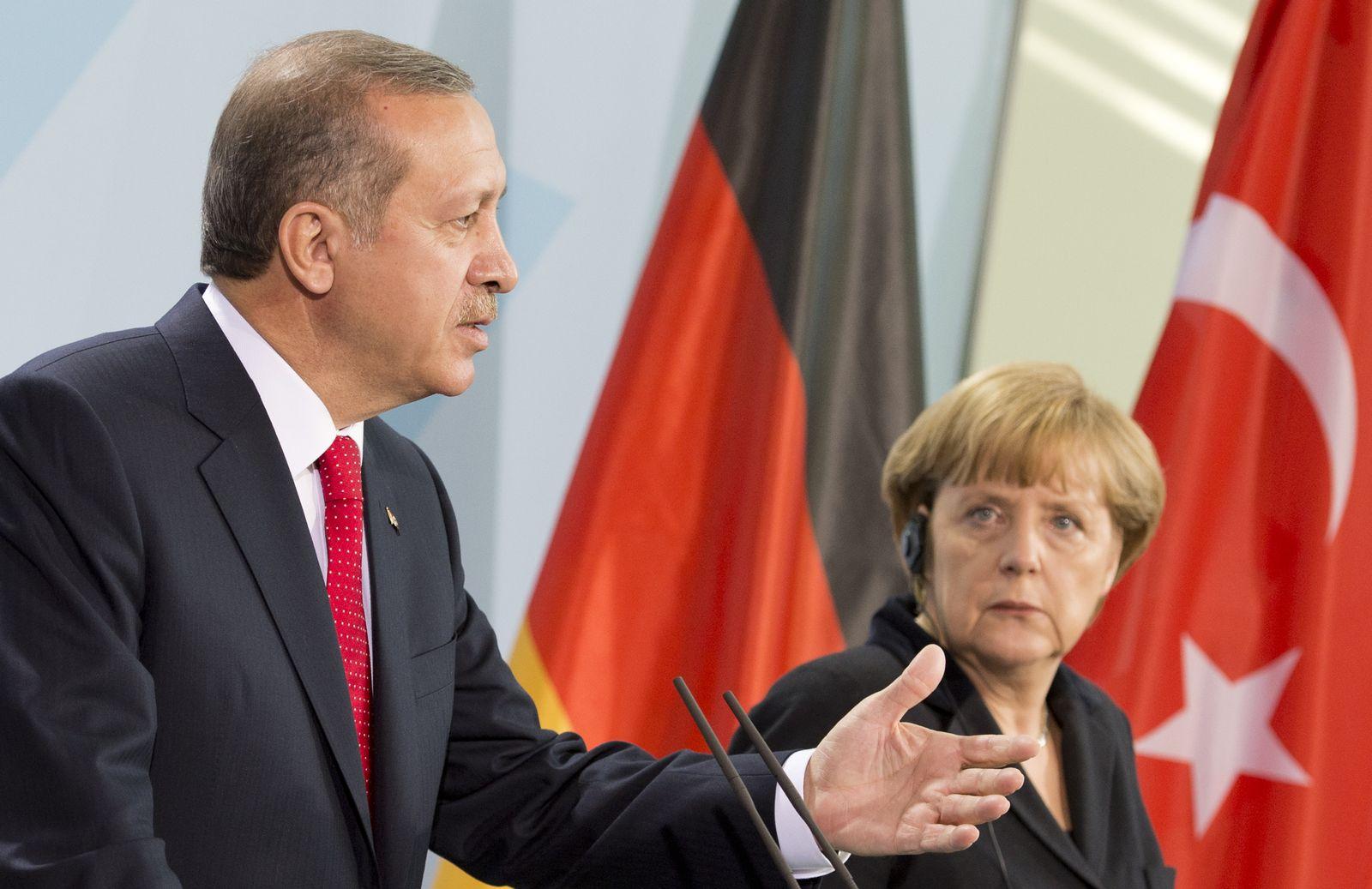 NICHT VERWENDEN Erdogan / Merkel