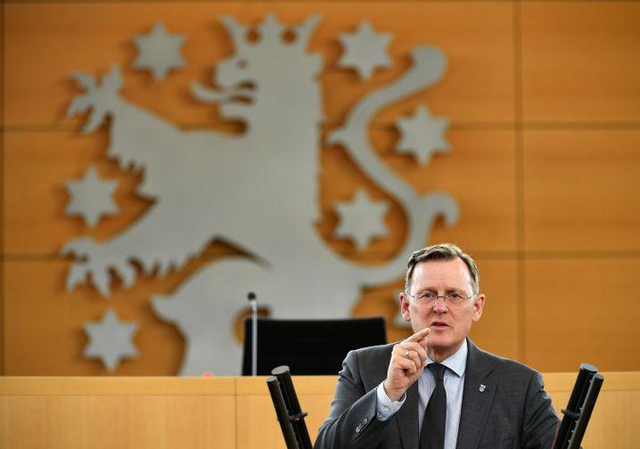Thüringens Ministerpräsident Bodo Ramelow: Niederlage für den Verfassungsschutz