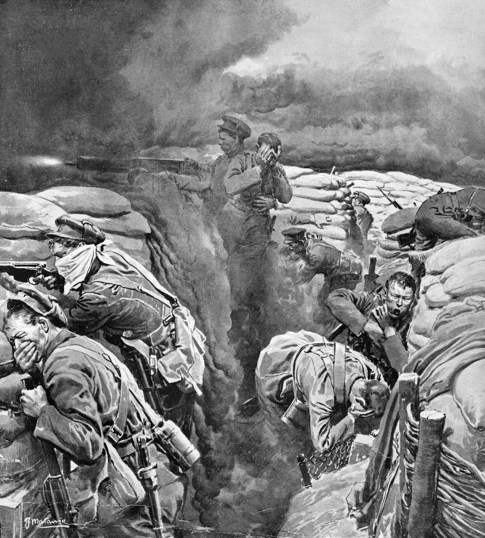 Kriegszitterer - 1. Weltkrieg: Westfront Frankreich