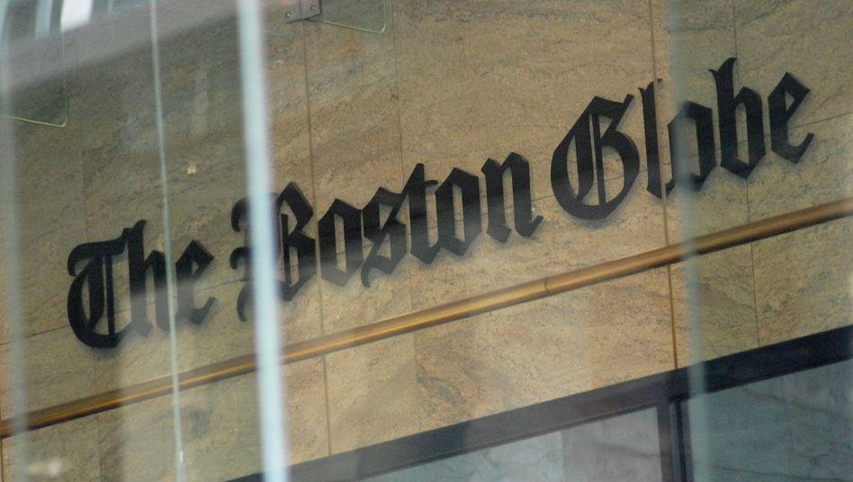 """""""Boston Globe"""" in Boston"""