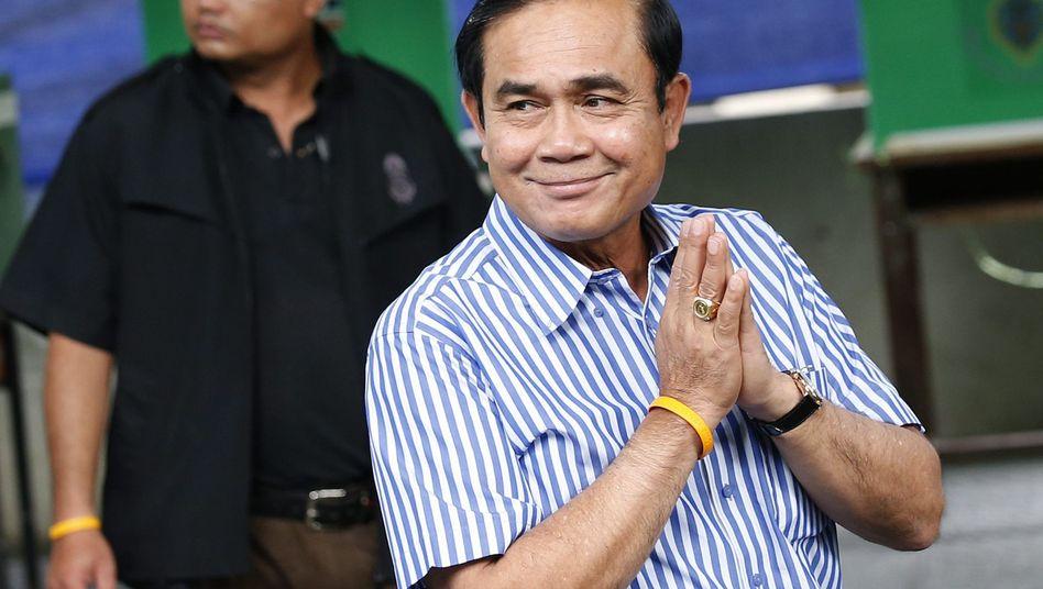 Prayut Chan-o-cha ist amtierender Ministerpräsident, General und Chef der Militärjunta