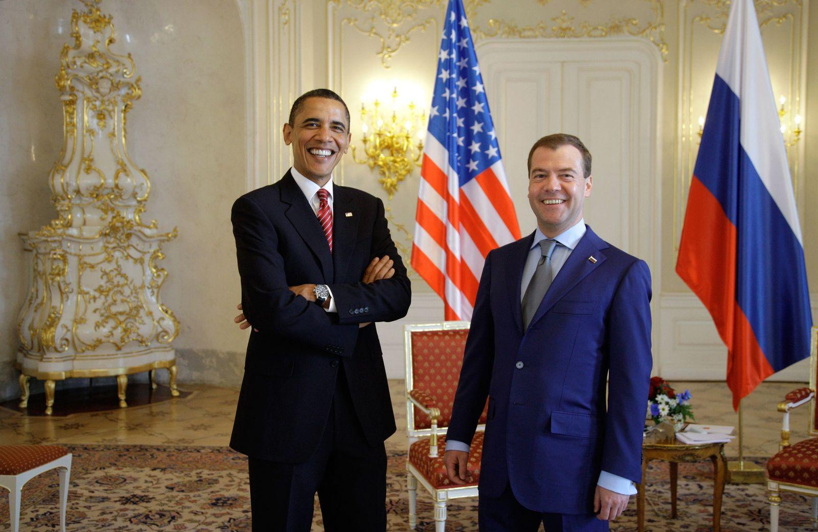 Obama / Medwedew
