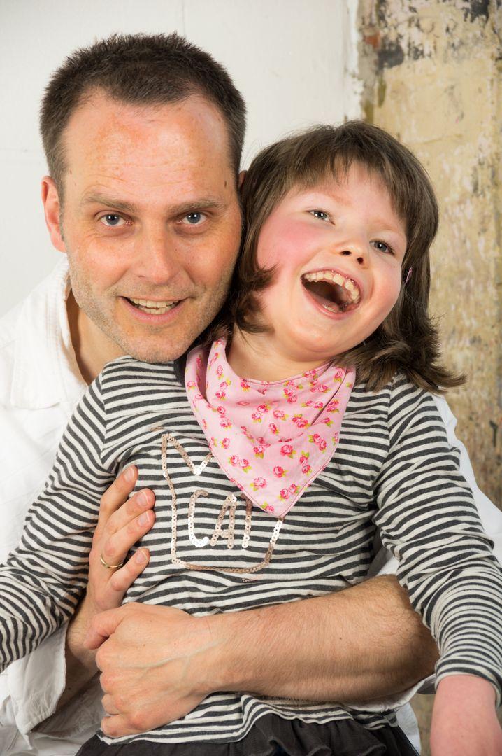 Foto aus dem Familienalbum: Amelie im Alter von acht Jahren