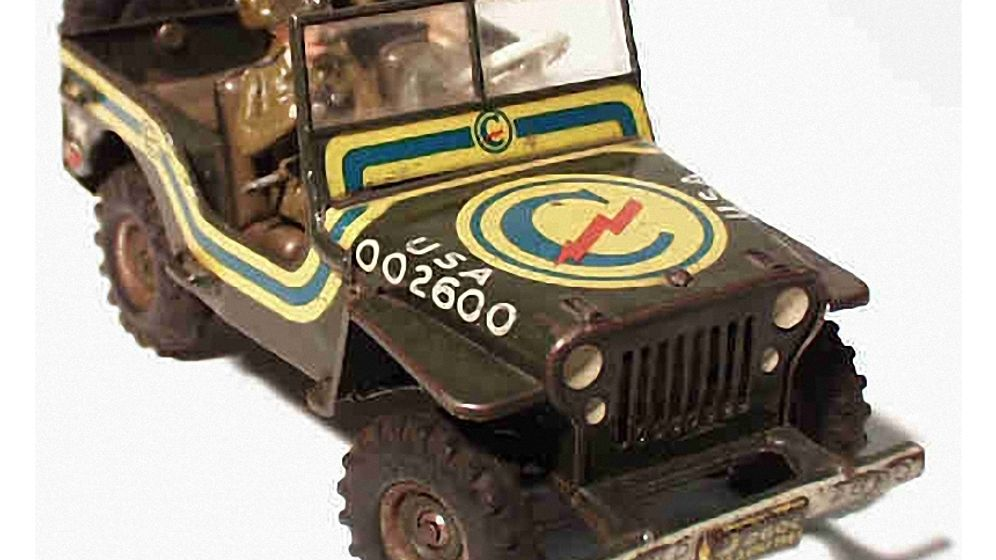 Militärspielzeug nach 1945: Der Krieg unterm Bett