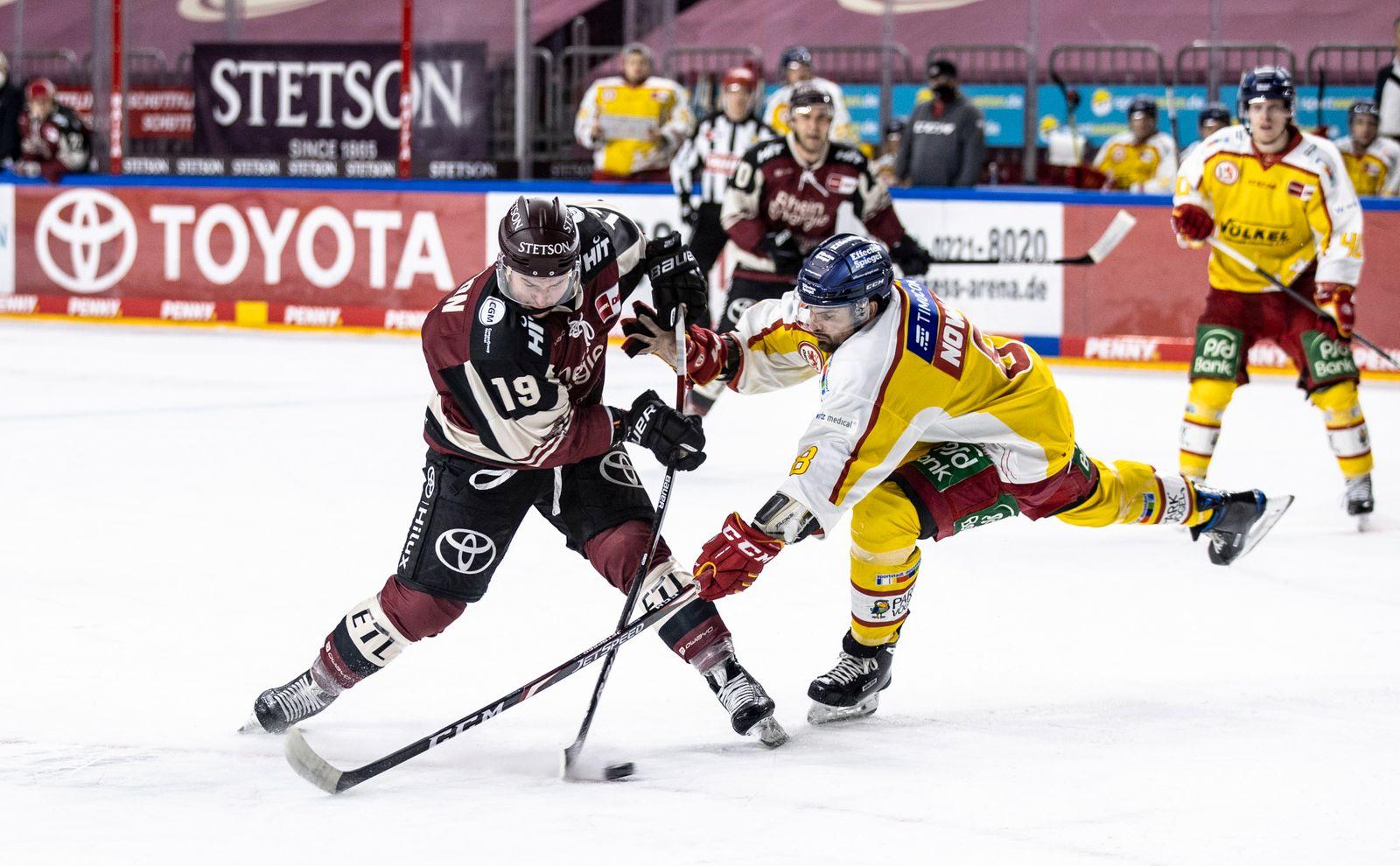 Koelner Haie v DEG - Deutsche Eishockey Liga