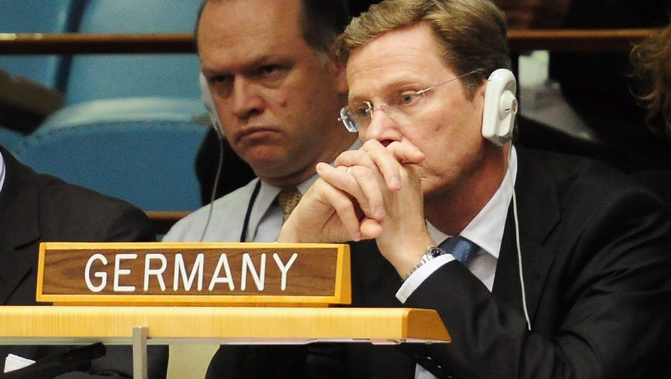 German Foreign Minister Guido Westerwelle has taken his lumps in the United Nations Security Council.