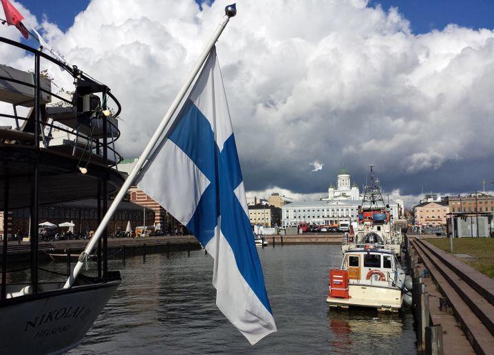 Stadtzentrum von Helsinki (im September 2015): Bald ohne Autos?